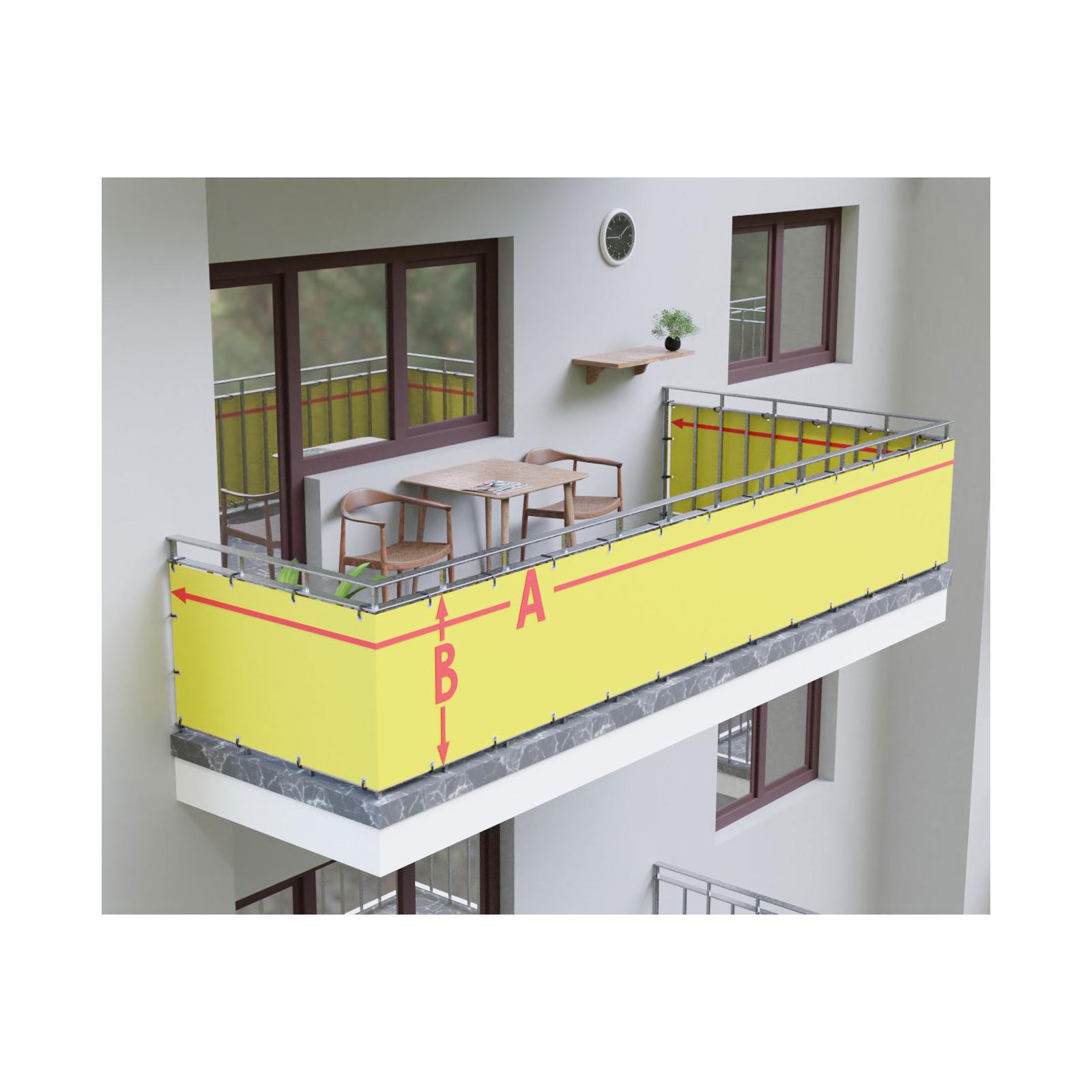 Balkonbespannung Nach Mass Direkt Vom Hersteller 30 Farben