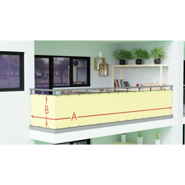 Balkonbespannung Nach Maß : balkonbespannung nach ma direkt vom hersteller 30 farben ~ Watch28wear.com Haus und Dekorationen